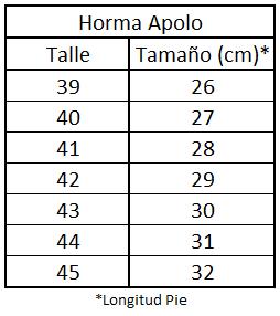 Horma Apolo